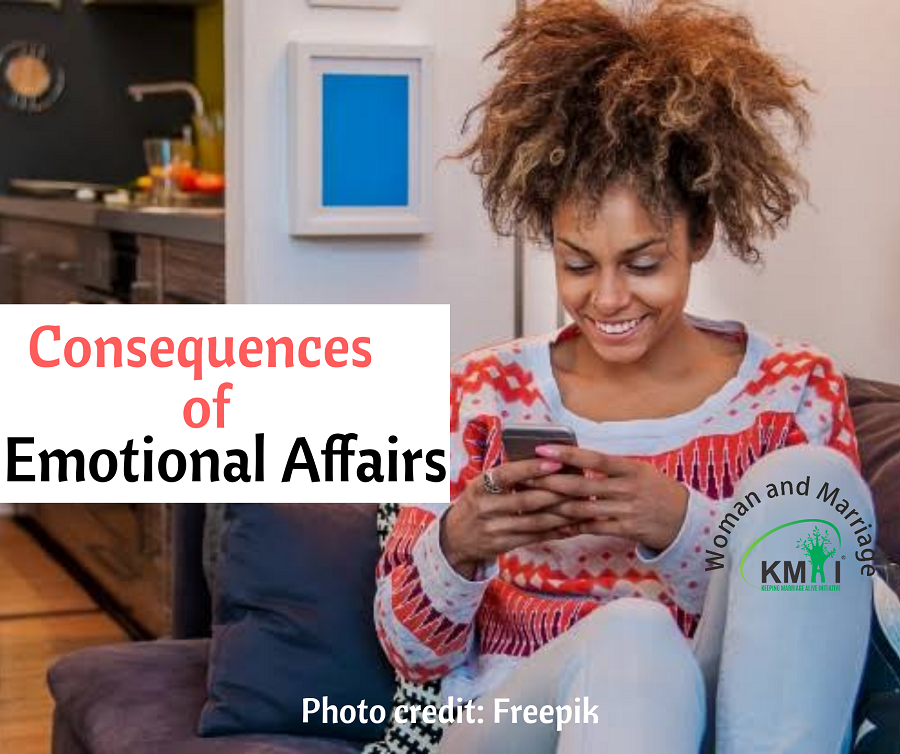 Consequences of emotional affair