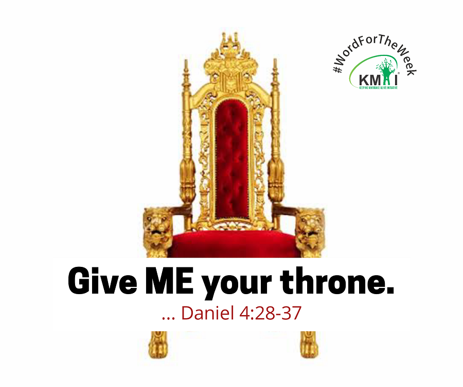 Give ME your throne