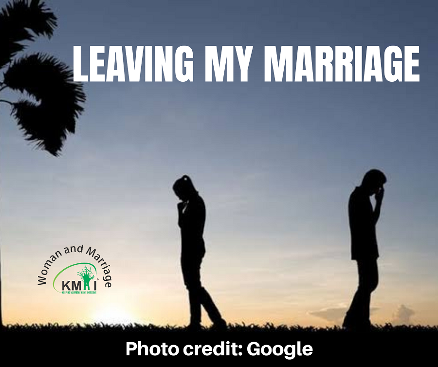 Leaving my marriage
